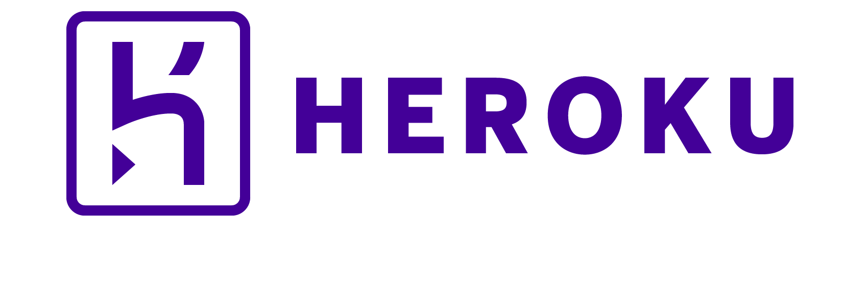 Heroku logotype horizontal purple cropped