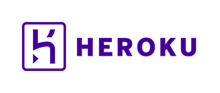 Heroku logotype horizontal purple  2